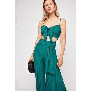 Free People Palermo Festival Two Piece pant Set